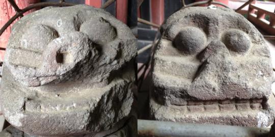 年代:江戸以前|山梨の狛犬