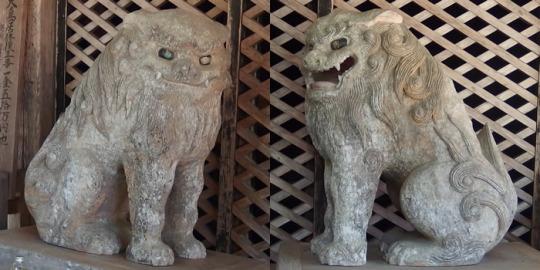 地域:南アルプス市|山梨の狛犬