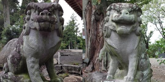 地域:中央市|山梨の狛犬