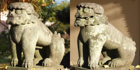 年代:不明|山梨の狛犬