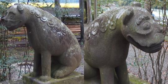 山梨の狛犬