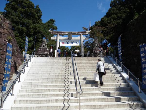 武田神社の護国系狛犬