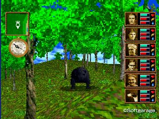 ちび黒熊(ちびくろくま)デザーテッドアイランド