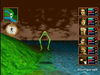 跳び蛙(とびがえる)デザーテッドアイランド
