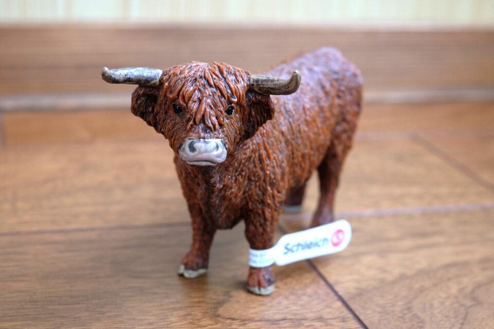 ハイランド牛のフィギュア(シュライヒ)が可愛すぎる