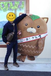 塩崎駅・やはたいぬのトリックアートで遊んできた!
