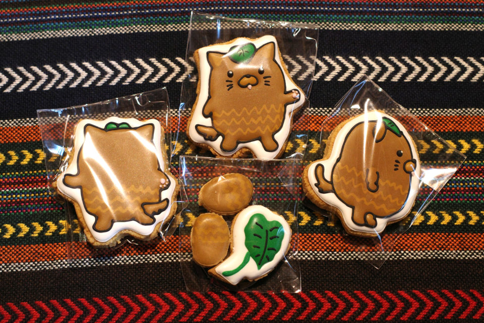 CHABO BATAKE やはたいぬ アイシングクッキー
