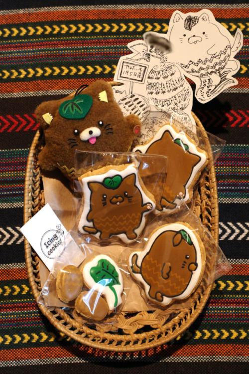 CHABO BATAKEさんにやはたいぬのアイシングクッキーを作ってもらいました!