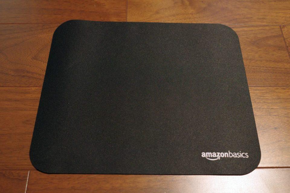 Amazonベーシックのマウスパッドが良かった