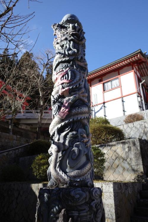 金櫻神社 昇龍