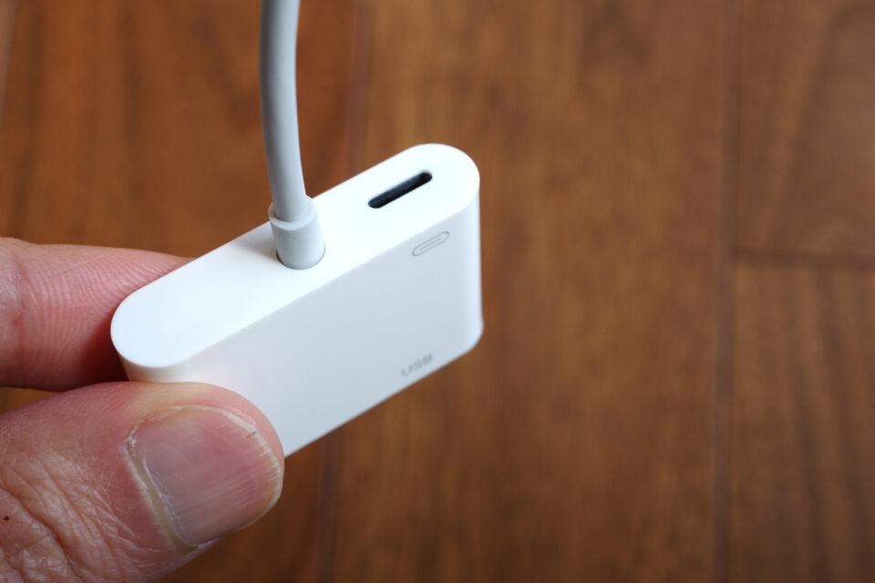 Lightning USB カメラアダプタ
