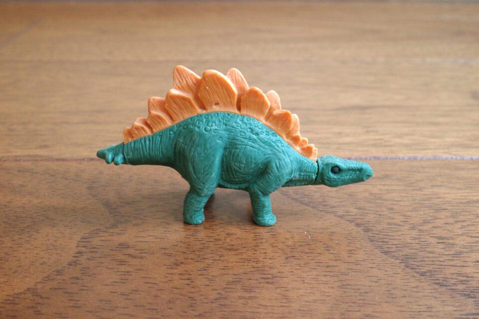 イワコー 恐竜消しゴム ステゴサウルス