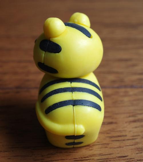 イワコー おもしろけしごむ サファリ トラ