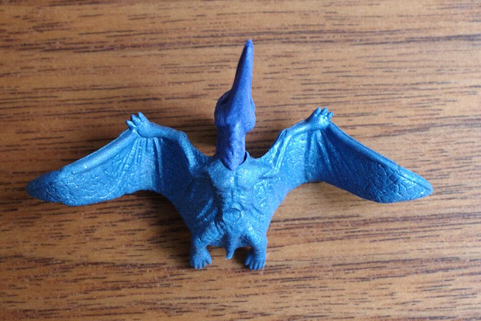 イワコー 恐竜消しゴム プテラノドン 青