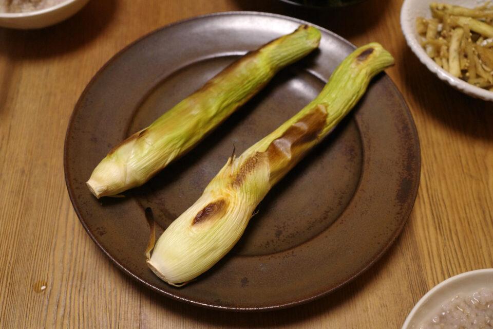 マコモダケを食べてみた