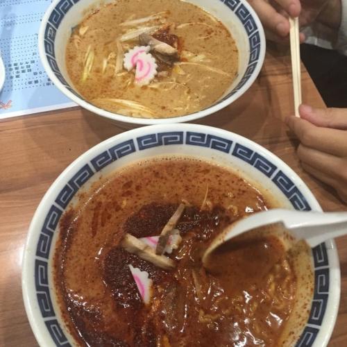 甲府市 六角亭 30倍担々麺