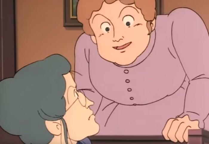 小公女セーラ アメリア発狂,ミンチン先生