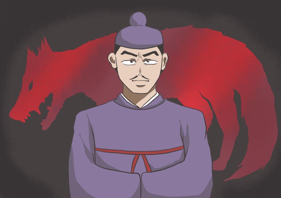 日本人とオオカミ 秦氏
