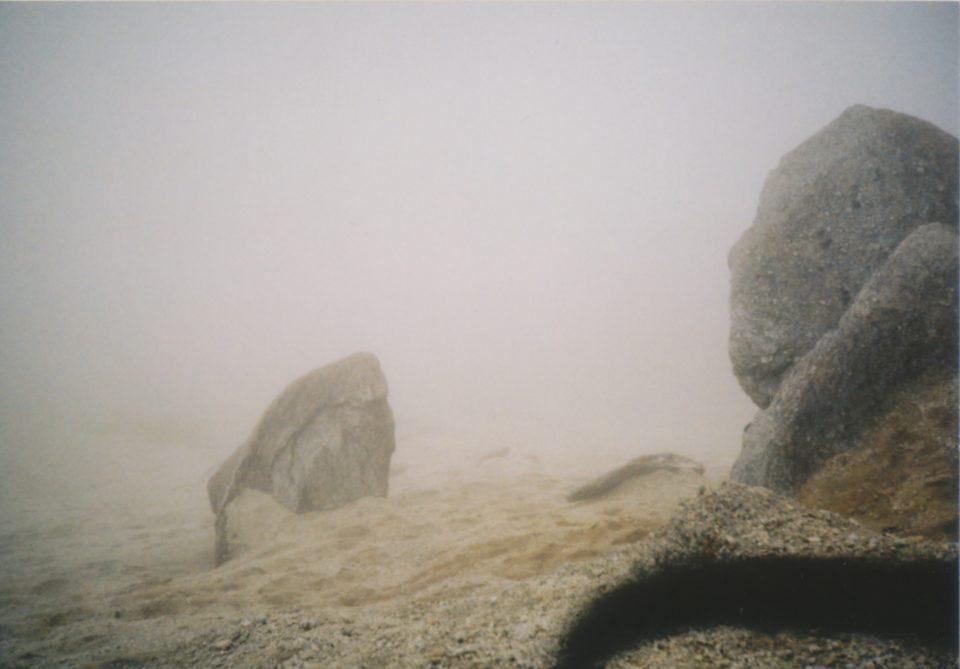 日向山の頂上で撮った写真