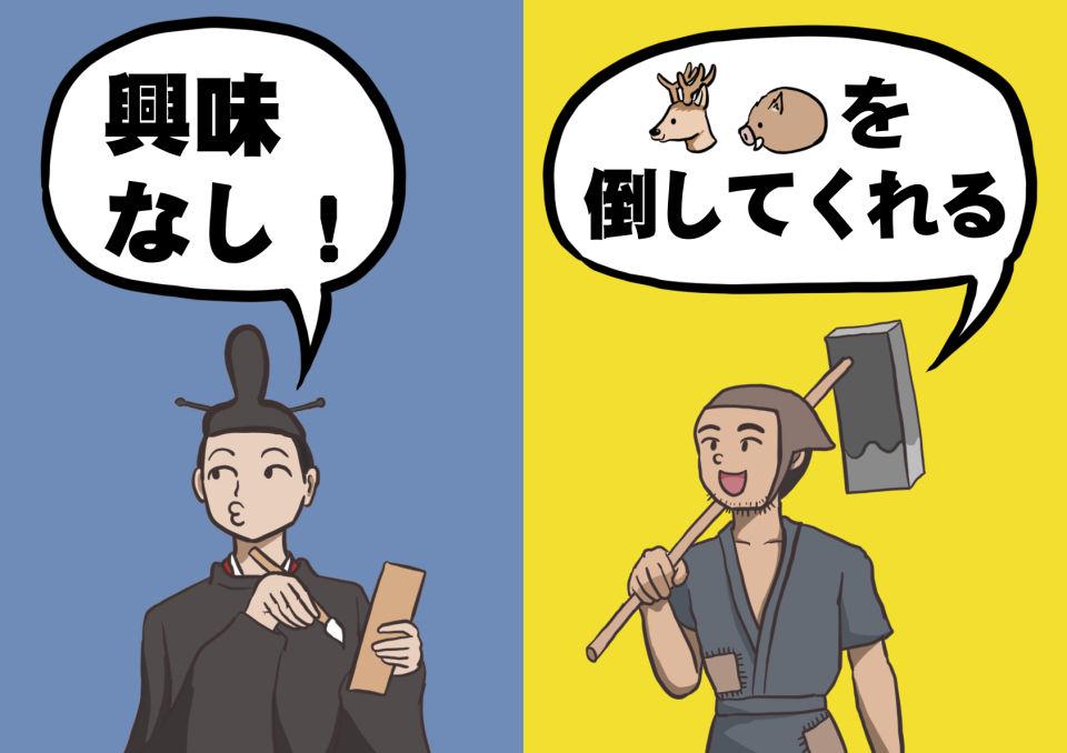 日本人とオオカミ 貴族と農民の意識の違い