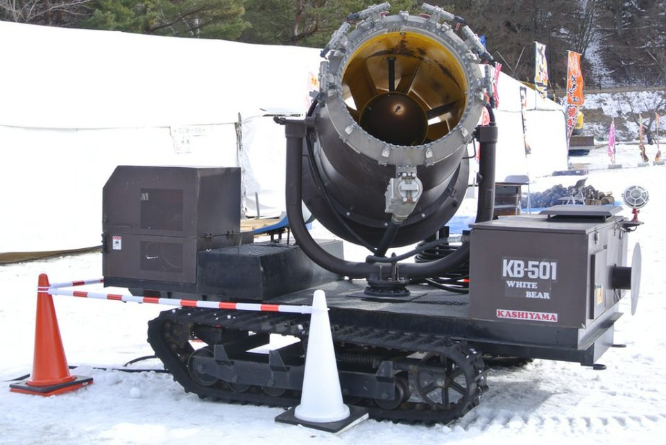 人工降雪機 WHITE BEAR KB501