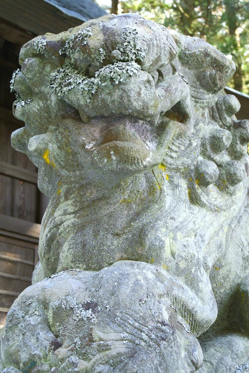 河口浅間神社 狛犬