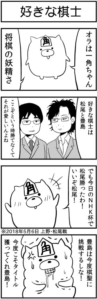 松尾歩 豊島将之 将棋の妖精 一角ちゃん